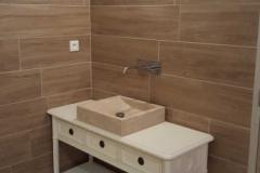 salle de bains - bois