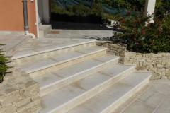 Terrasses pierre